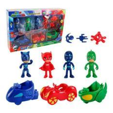 Figure Pj Masks 1 Set Isi 11 Pcs / Figurine Pj Mask / Mainan Pj Masks - 6Q429E