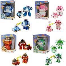 Jual Figure Robocar Poli Set Isi 4 Poli Roy Amber Heli Mainan Anak Poli Ahs Online