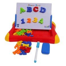 Beli First Classroom Mainan Eduka Edukasi Anak Magnetic Learning Case Drawing Board Merah First Classroom Asli