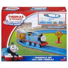 Jual Fisher Price® Thomas Friends™ Motorized Railway Thomas Starter Set Lengkap