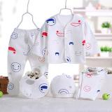 Beli Lima Potong Kapas Pakaian Dalam Pakaian Bayi Baru Lahir Lima Potong Baru
