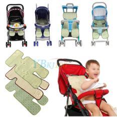 Jual Flax And Bamboo Baby Seat Pad Mat Liner For Stroller Pram Coffee Intl Oem Ori