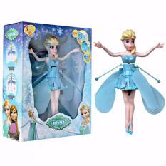 Flying Frozen Elsa Boneka Terbang Sensor Doll Peri Mainan Edukasi Anak Lucu Unik Murah