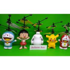 Flying Heli Helicopter Toy Mainan Anak Terbang - S3bhcg