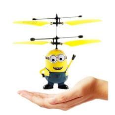 Flying heli Minion - Helicopter Toy Mainan Anak Terbang Minion sensor tangan eda59c3127
