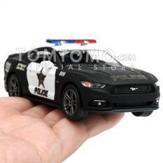 Promo Ford Mustang Gt 15 Police Diecast Miniatur Mobil Mobilan Sedan Polisi Mainan Kado Anak Cowok Kinsmart
