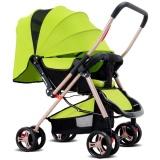 Tips Beli Four Wheel Foldable Pram Baby Stroller Intl Yang Bagus