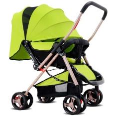 Jual Four Wheel Foldable Pram Baby Stroller Intl