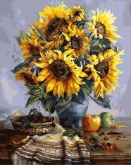Frameless DIY Oil Painting Paint With Nomor KIT 40 Cm X 50 CM-Intl