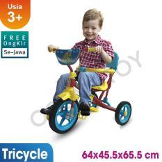 Sepeda Anak / Sepeda Roda Tiga / Sepeda Tricycle / Safari Mainan Anak Bmx921 By Ocean Toy.