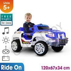 Jual Free Ongkir Se Jawa Ocean Toy Ride On Pmb Mobil Aki M6168 Muscle Racer Biru Putih Di Banten