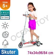 100% Free Ongkir Khusus Pulau Jawa Ocean Toy RMB Skuter Pedal Injak Plastic Base Mainan Anak