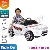 Harga Free Ongkir Seluruh Jawa Ocean Toy Ride On Pmb Mobil Aki M 8188 Road Racer Putih Branded