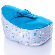 Tips Beli Free Ongkir Tempat Tidur Baby Bouncer Beanbag Blue Doraemon 75X50X40 Cm
