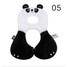 Freeshop Bantal Leher Bayi Stroler Benbat Perlindungan Kepala Bayi Bantal Sandaran Kepala Leher Bayi Panda S335 - Black