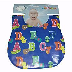 Freeshop Bib Sleber baby Plastik ABC Baby Grow S206 - Biru