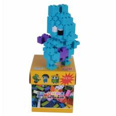 Freeshop Mainan Anak Lego Creative Brick Set Mewtwo - Biru