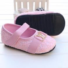 Freeshop Prewalker Shoes Sepatu bayi Pws Shoes S151 - Pink