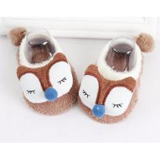 Spek Freeshop Sepatu Prewalker Boneka Bayi Owl S272 Brown