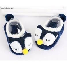 Freeshop Sepatu Prewalker Boneka Bayi Owl S272 - Navy