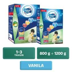 Jual Frisian Flag Jelajah 1 3 Susu Pertumbuhan Vanila 800 Gr 1200 Gr Value Bundle Frisian Flag Asli