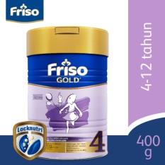 Spek Friso 4 Gold Susu Pertumbuhan 400Gr Tin Indonesia