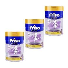 Jual Friso 4 Gold Susu Pertumbuhan 900Gr Tin Bundle Isi 3 Satu Set