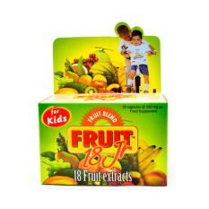 Fruit 18 Jr Junior 30s - Multivitamin Buah Anak, Meningkatkan Daya Tahan Tubuh Anak, Meningkatlan Nafsu Makan Anak, Vitamin Buah Anak, Kalsium Anak, Susah Bab, Sembelit By Figur Sehat.