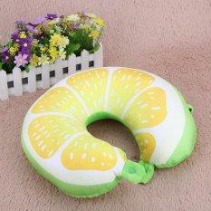 ... Fruit U Shaped Pillow Cushion Nanoparticles Neck Pillows Orange intl Source Source Bantal Buah U Berbentuk