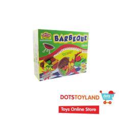Fun Doh Barbeque Set Incl 3pcs Doh - Mainan Anak