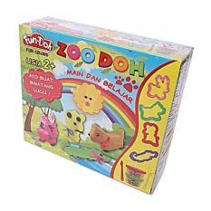 Fun Doh Playdoh Lilin Mainan Dan Cetakan - Zoo Doh / Seri Kebun Binatang By A Prime Universe.