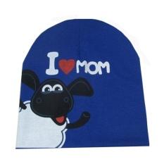 Fuskm Balita Bayi Bayi Lembut Lucu Lucu Rajut Topi Beanies Tutup dengan I Cinta Ayah/