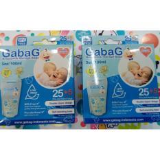 Harga Gabag Breastmilk Storage Bags 100 Ml 2 Box Kantong Asi Lengkap