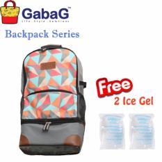 GabaG Cooler Bag Backpack Series Radja Bima - Free 2 Ice Gel