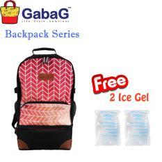 Jual Gabag Cooler Bag Backpack Series Radja Ramada Free 2 Ice Gel Branded