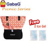 Jual Gabag Cooler Bag Big Picnic Series New Colette Free 2 Ice Gel Branded Murah