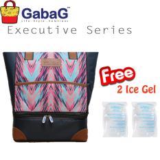 Harga Termurah Gabag Cooler Bag Executive Series Rayana Free 2 Ice Gel