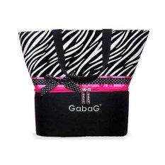Gabag Cooler Bag New Zebra Tas Penyimpan ASI
