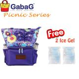 Jual Gabag Cooler Bag Picnic Series New Gempita Free 2 Ice Gel Satu Set