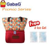 Cuci Gudang Gabag Cooler Bag Picnic Series Senja Free 2 Ice Gel