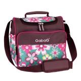 Review Toko Gabag Cooler Bag Sling Flower Multicolor