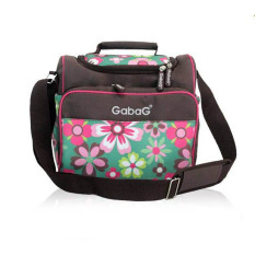 Diskon Gabag Cooler Bag Sling Flower Tas Penyimpan Asi Gabag