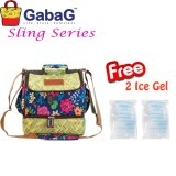 Gabag Cooler Bag Sling Series Big Bamboo Free 2 Ice Gel Diskon Indonesia