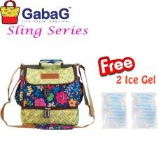 Ulasan Tentang Gabag Cooler Bag Sling Series Big Bamboo Free 2 Ice Gel