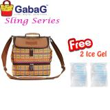 Ulasan Lengkap Tentang Gabag Cooler Bag Sling Series Big Borneo Free 2 Ice Gel