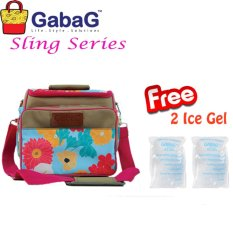 GabaG Cooler Bag Sling Series Moana (Free 2 Ice Gel)
