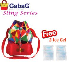 Miliki Segera Gabag Cooler Bag Sling Series Sierra Free 2 Ice Gel