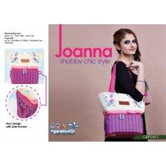 GabaG Joanna Tote Cooler Bag Tas Asi Thermal Bag - Free 2 Ice Gel