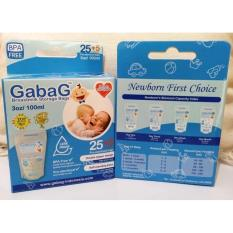 GabaG Kantong ASI 100ml - BPA Free (Breastmilk Storage)