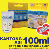 Harga Gabag Kantong Asi Gabag Breastmilk Bag 100Ml Branded